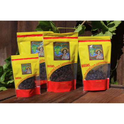Raisin Valley Farms Family of Pouch Bags